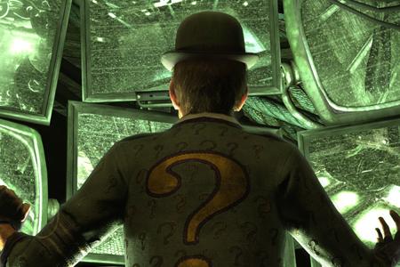 arkham asylum riddler puzzles