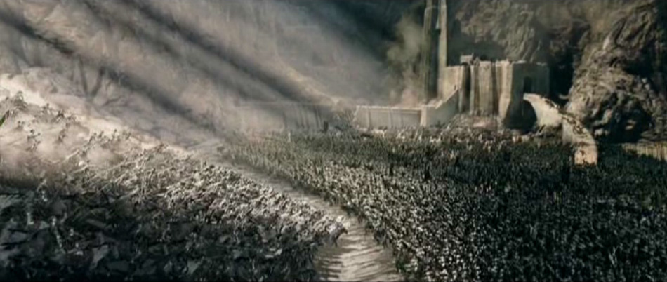 Lord Of The Rings Helms Deep Charge